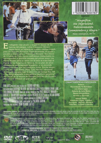un pequeño romance laurence oliver pelicula dvd