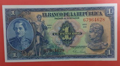 un peso de 1954 colombia.