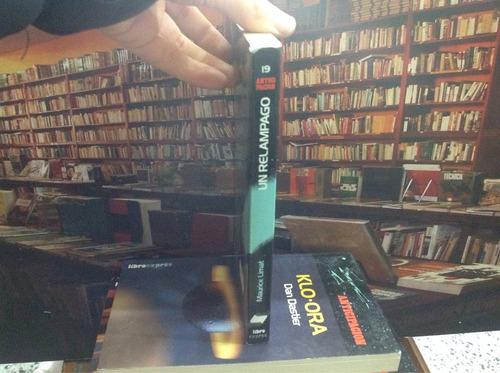 un relámpago. maurice limat. ciencia ficción. novela