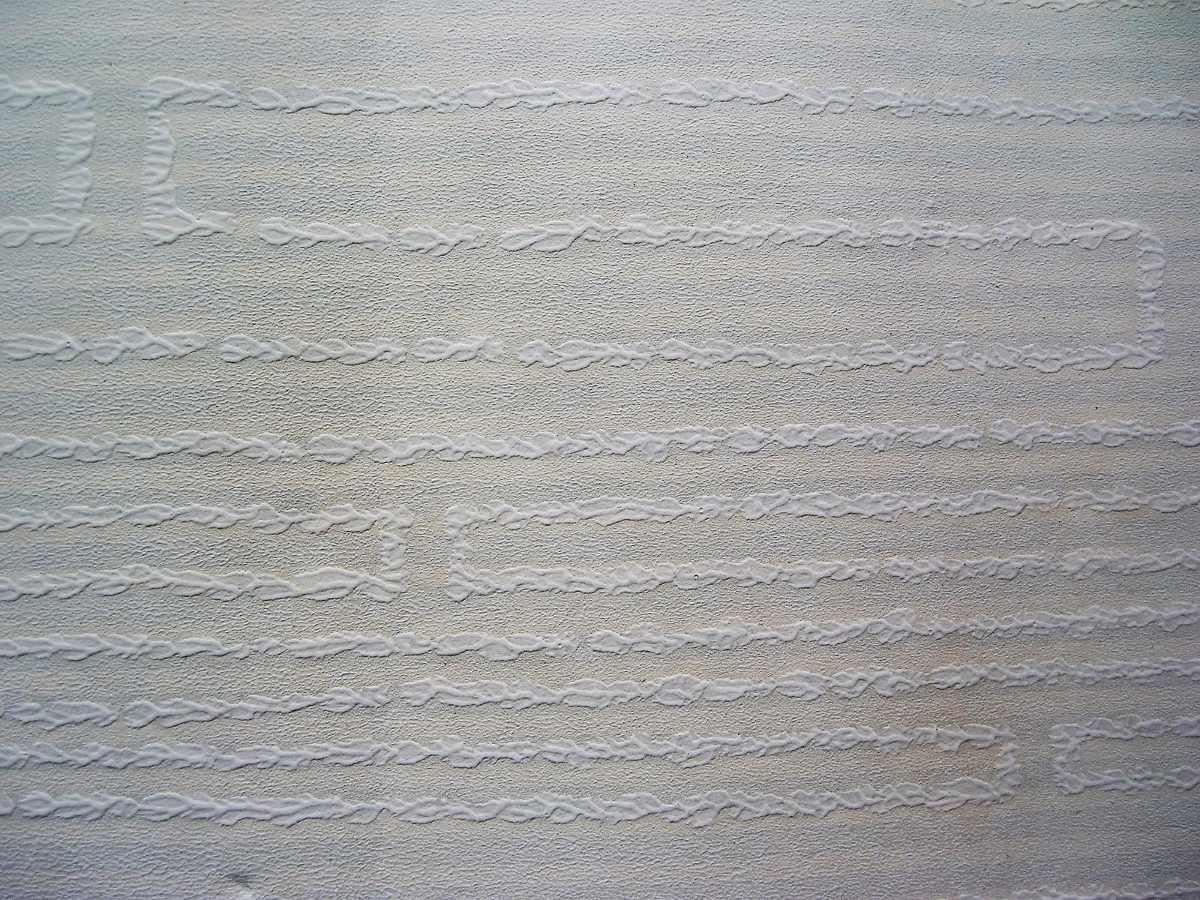 Un rollo papel mural gravillado suave blanco for Colowall papel mural santiago