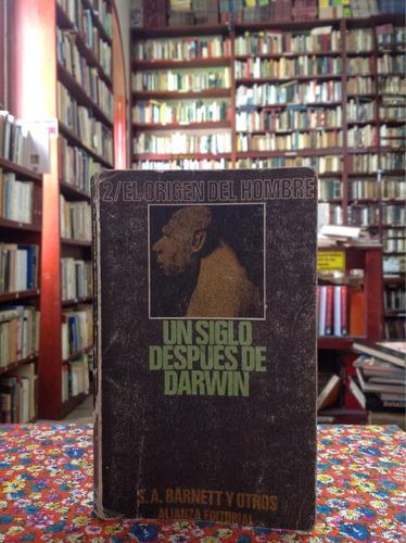 un siglo después de darwin. s. a. barnett