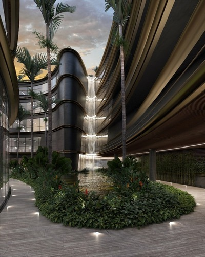una fusion entre la ciudad y un estilo de vida residencial de lujo