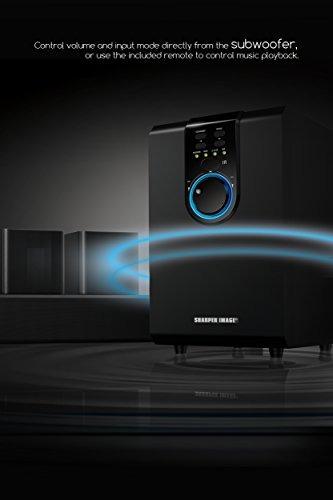 una imagen más aguda 5.1 sistema de sonido de cine en casa