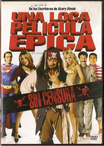 una loca película epica - en dvd 100% original