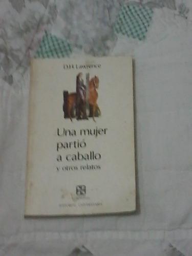 una mujer partio a caballo y otros relatos-david h. lawrence