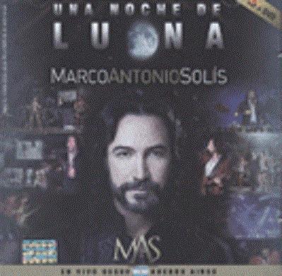 una noche de luna (cd+dvd) marco antonio solis