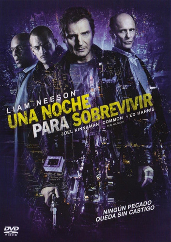 una noche para sobrevivir run all night pelicula dvd + dc