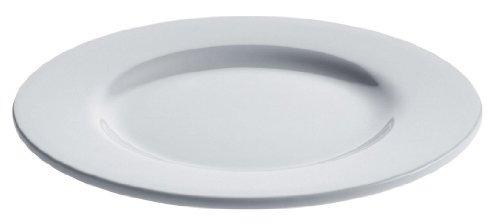 una placa di alessi 8 pulgadas platebowlcup lado, blanco po