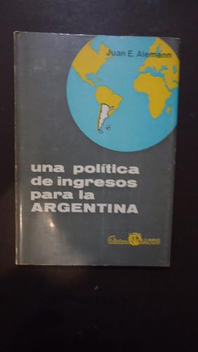 una política de ingresos para la argentina