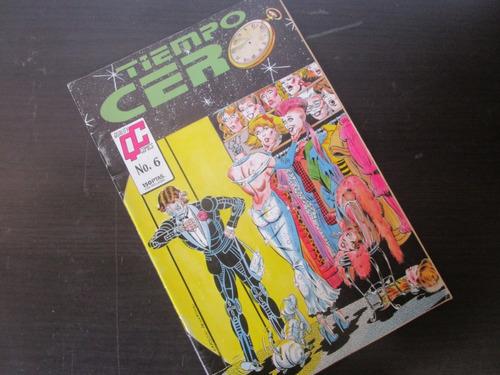 una revista comics tiempo cero en español w
