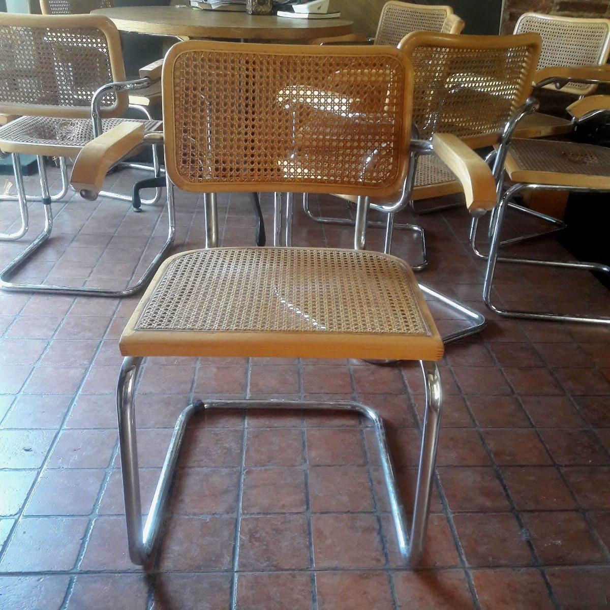 Una Silla Sill N Marcel Breuer Cesca Bauhaus Esterilla Retro  # Muebles Bauhaus Caracteristicas