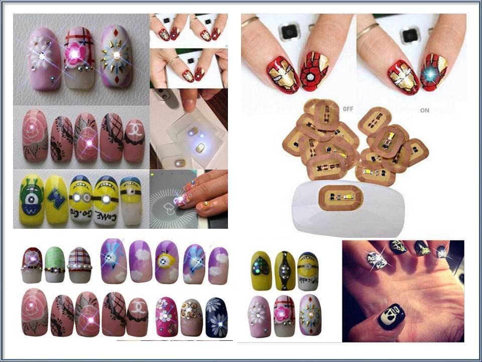 Lujo Uñas Esmalte De Luz Púrpura Modelo - Ideas de Diseño de Arte de ...