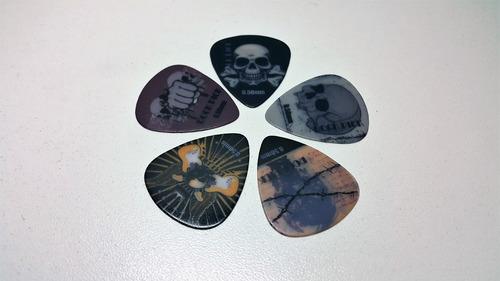 uñas de guitarra con diseño x10