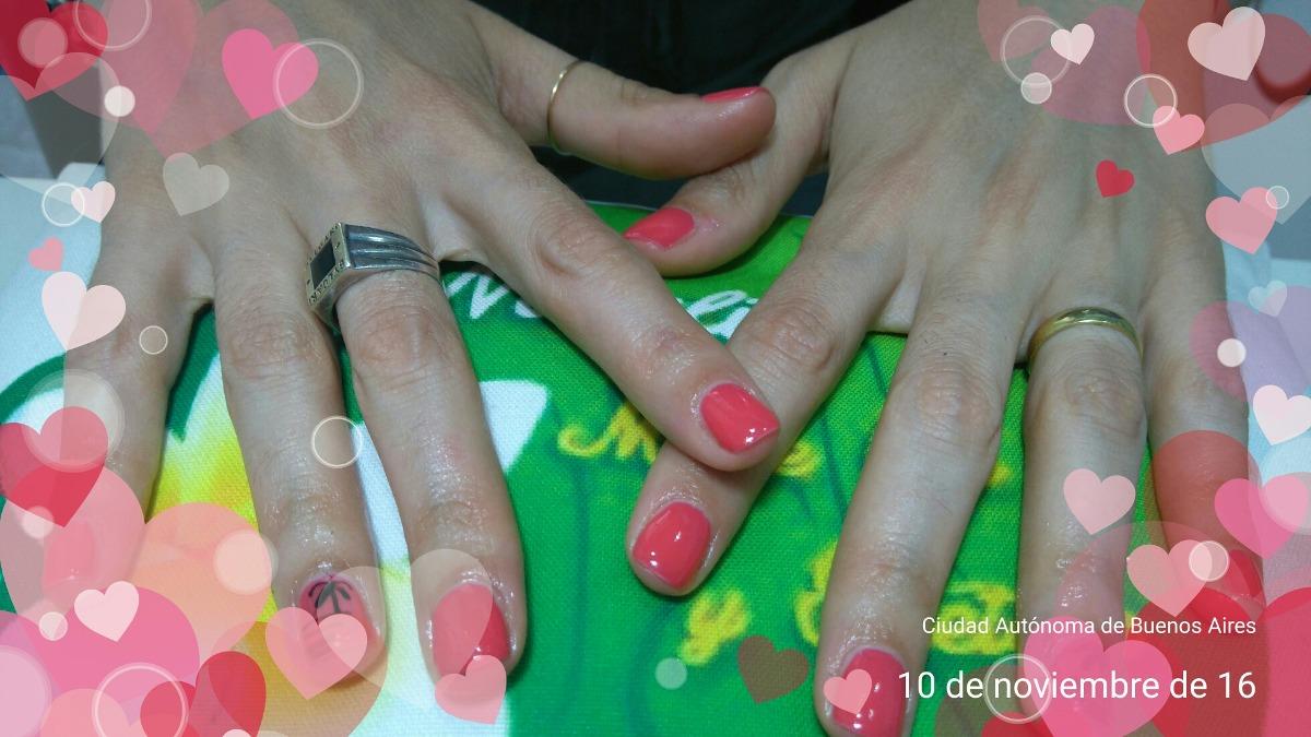 Lujo Llenar Las Uñas De Gel Componente - Ideas Para Pintar Uñas ...