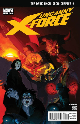 uncanny x-force #14 - remender - opeña - novedad - inglés