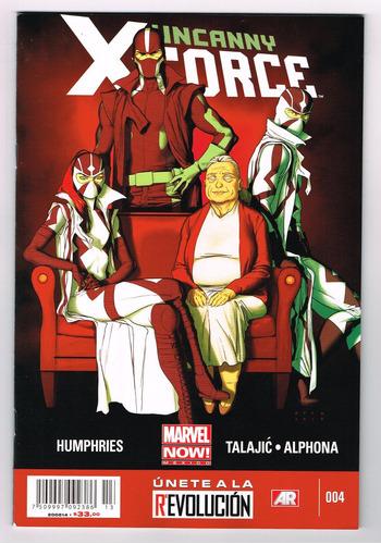 uncanny x- force# 4 - marvel now! -  editorial televisa