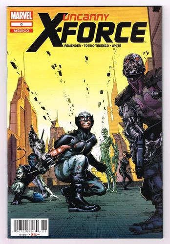 uncanny x- force# 6 - marvel now! -  editorial televisa