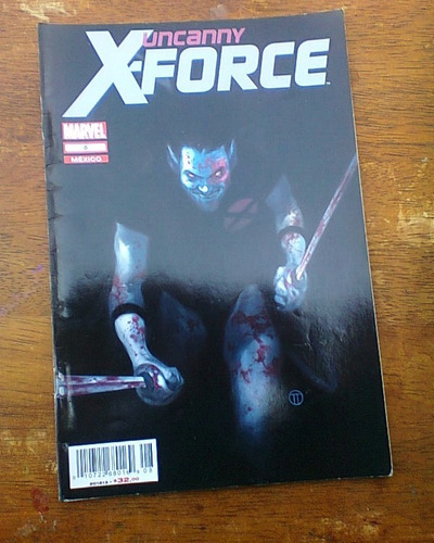 uncanny x-force  #8 comics marvel now televisa