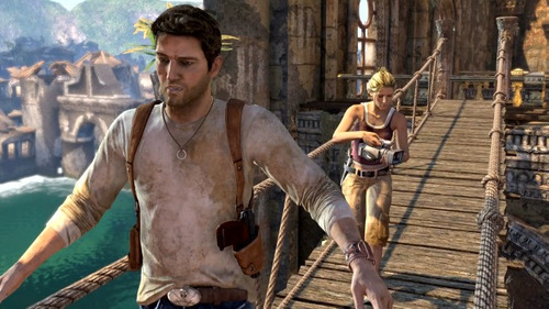 uncharted 1 : drake's fortune juego digital ps3