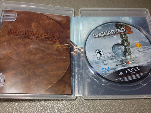 uncharted 2  among thieves  exclusivo para ps3