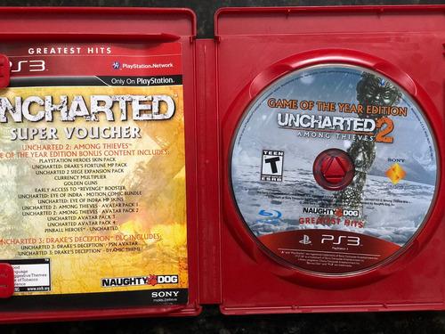 uncharted 2 juego para playstation 3