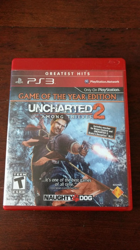 uncharted 2 ps3 fisico