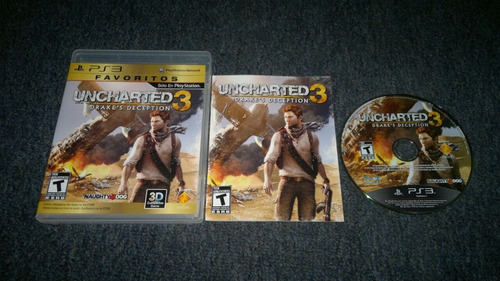 uncharted 3 completo para play station 3,checalo