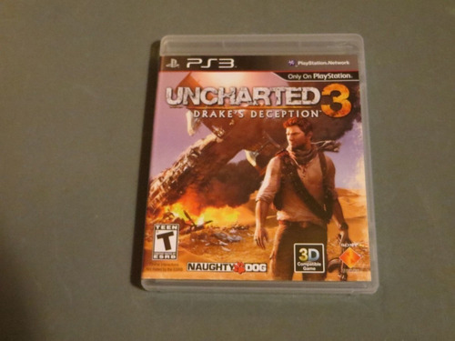uncharted 3 drakes deception ps3 envio gratis