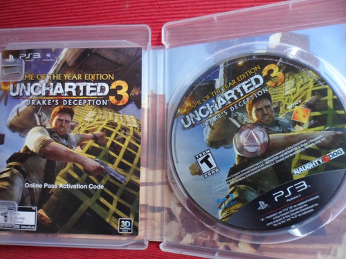 uncharted 3 drakes deception ps3 impecable