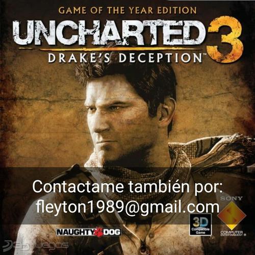 uncharted 3 juego ps3 digital paypal bitcoin