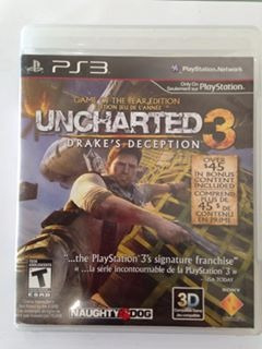 uncharted 3 playstation 3 ps3