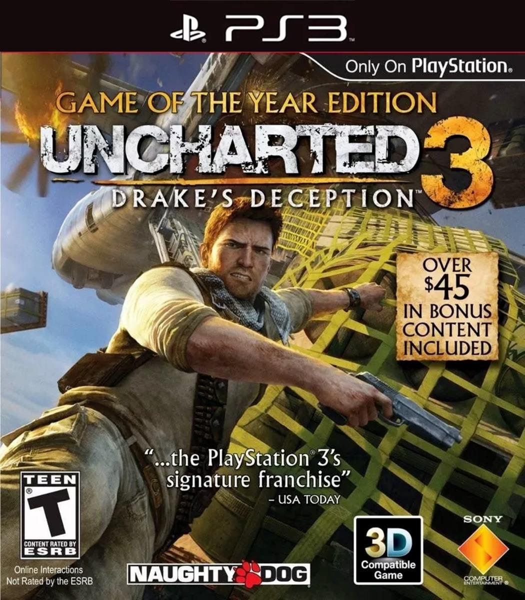 Uncharted 3: La traición de Drake SEMINUEVO