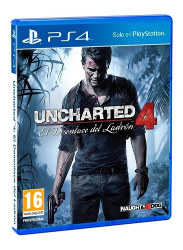 uncharted 4 a thief's end / juego físico / ps4