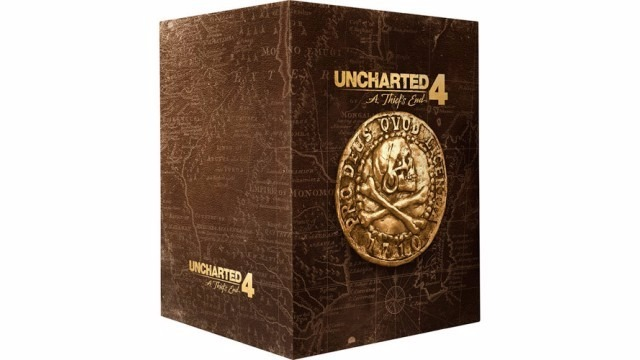 Uncharted 4: A Thief's End Libertalia Collectors Edition ...
