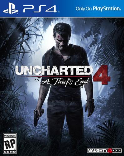 uncharted 4 - a thief's end - ps4 - español - digital