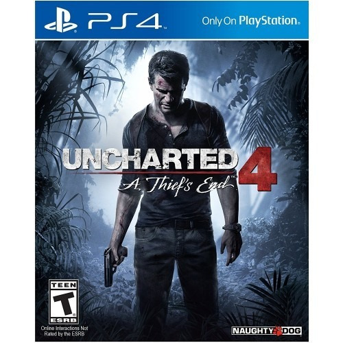 uncharted 4 a thief's end ps4 fisico