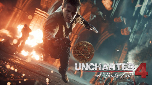 uncharted 4 a thief's end ps4 nuevo original domicilio - jxr