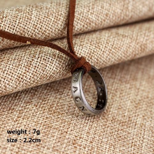 uncharted 4 anillo collar drake nathan nate sic parvis magna