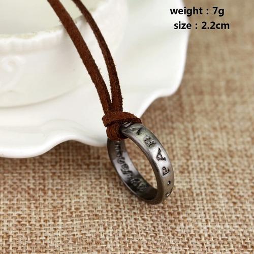 uncharted anillo envio gratis collar drake francis nathan