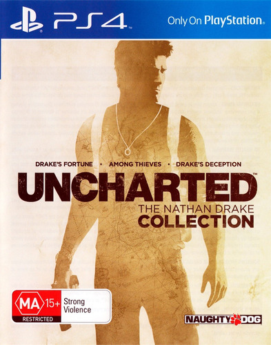 uncharted collection the nathan drake / juego físico / ps4