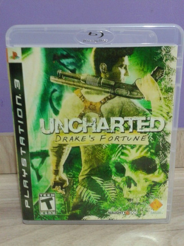 uncharted drake's fortune playstation 3 original
