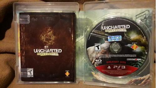 uncharted ps3 fisico - original (seminuevo)