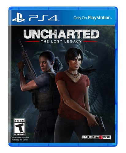 uncharted ps4 con