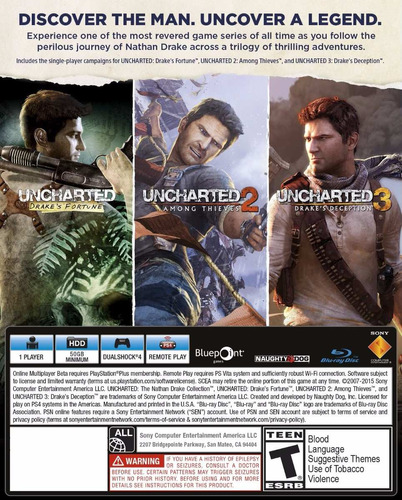 uncharted the nathan drake coleccion es- ps4-- en kiero1