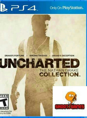 uncharted the nathan drake collection  ps4 digital cu. secun