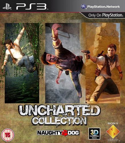 uncharted trilogy goty - collection ps3 digital español gcp