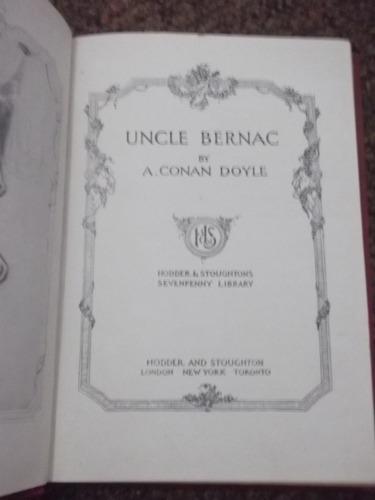uncle bernac conan doyle 1915 tapas duras en inglés