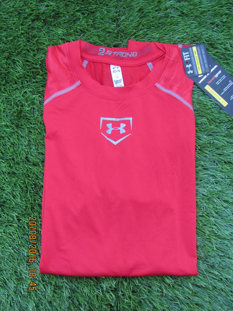 3d75f210f49 under armour camiseta lycra compresion shirt small baseball. Cargando zoom.