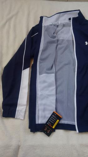 under armour chaqueta hombre azul oscuro talla s