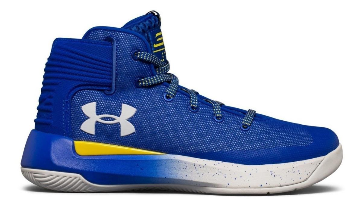 atarse en nuevos productos para tienda oficial Under Armour Curry 3 Zero Azul Básquetbol Profesional Adulto